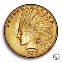10 USD Indian Head